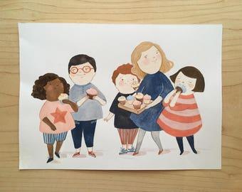 ORIGINAL - Cupcake Kids
