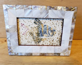 Mother of Pearl Photo Frame,