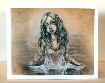 Rusalka: A Watery Grave 8x10 Print