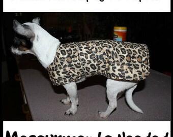 Dog Coats/Jackets - Custom made to Measurements
