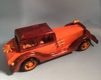 Model wood automobile