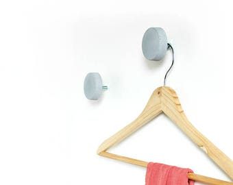 3. set concrete coat hook, coat hooks NUB