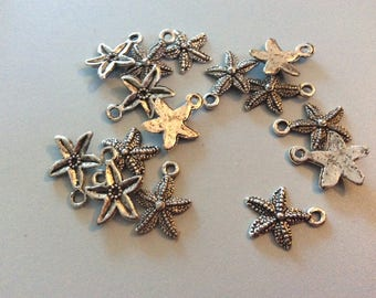 15 Tibetan starfish charms
