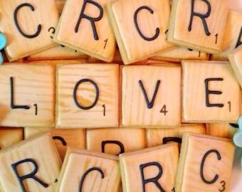 24 Game Tile Sugar Cookies