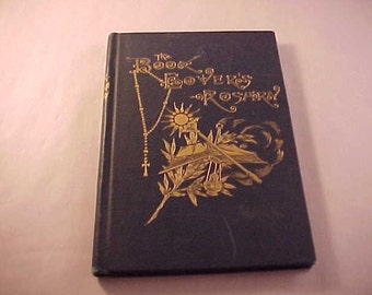 1885 The Book Lover's Rosary Hardcover Book