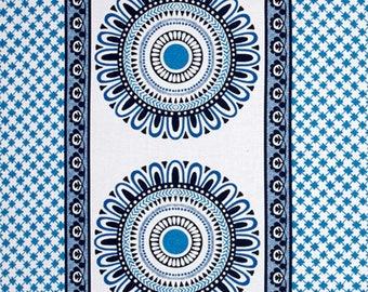 Michael Miller Suzette Stripe Cotton Fabric Blue Delft  BY the Yard
