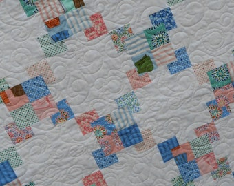 Quilt Pattern - Baby to King size - Charm Squares, Layer Cake, Fat Quarters - A Charmed Life PDF INSTANT DOWNLOAD