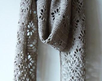 Spiders Scarf Crochet Pattern PDF
