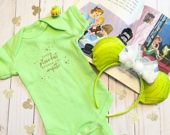 Throw Pixiedust Around Like Confetti Tinkerbell Inspired Baby Onesie Toddler Tee