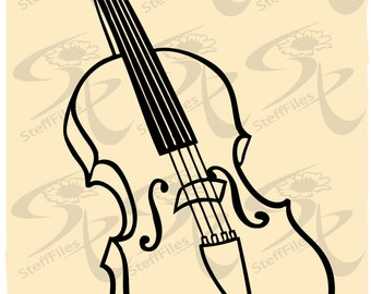 Vector VIOLIN MUSICAL INSTRUMENT,svg,dxf,ai, png, eps, jpg,Silhouette,Download files, Digital, graphical