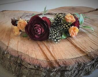 DIY Flower Crown, Make your own crown, Wedding Crown, Grapevine Flower Crown, Custom Faux Flower Crown