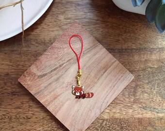 Tiny Red Panda Keychain