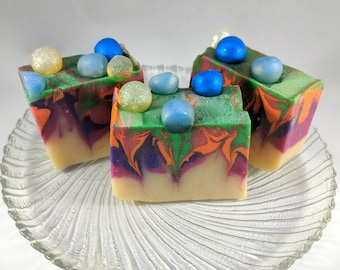 Floral Delight scented handmade cold process soap