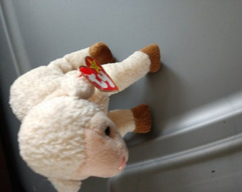 Ewey the Sheep - Ty Beanie Babies - 1999