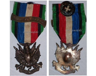 France vs Prussia War pre WW1 Veterans Medal 1870 1871 Military Decoration service Merit
