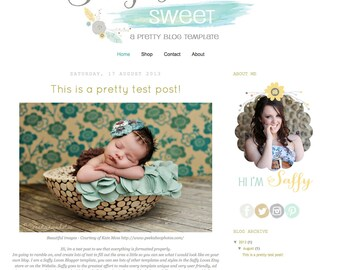 Simply Sweet Blogger Template Theme (10)