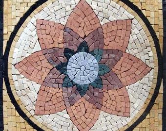 Wall Art Mosaic - Water Lily