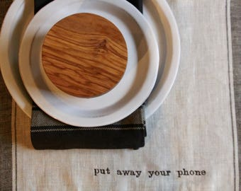 Manners Linen Placemats Set of 6