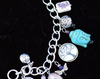 Blue Buddha Bracelet