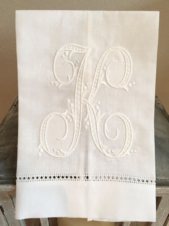 personalized hand towels themonogramroom