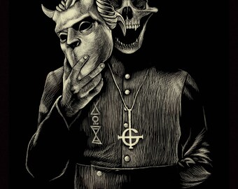 POSTER NAMELESS GHOUL