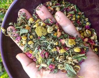 Custom Organic Loose Leaf Tea Blend- USDA Organic Kosher Fair Trade High Quality