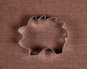 Hedgehog Cookie Cutter, Baby Shower Cookie Cutter, Animal Cookie Cutter, Metal Cookie Cutters, Hedgehog Biscuit Cutter, Sugar Cookie Cutter