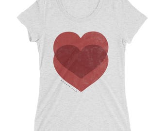 Women's Organ Donor Tee - Womens Trendy Tee - Donate Life Tee - Heart Transplant Shirt - CHD Awareness - HCM Awareness - Transplant Survivor