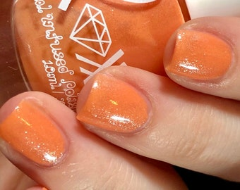 Roxx for Kids - Carnelian - Concentration - Crystal Infused Nail Polish - Non-Toxic - Vegan - Crystal Energy