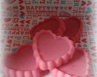 Scalloped Heart Tart Melts