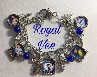 Coraline charm bracelet