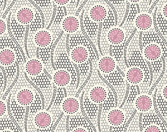 Andover Fabrics Downton Abbey The Women's Collection 7326 E - Sybil's Tulle in Pink -  Victorian Quilting fabric ZD-59226-001 Shirting