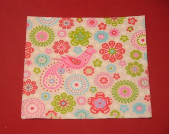 """home deco """"flowers"""" themed paper napkin"""