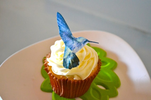 Wedding Cake Topper The Original EDIBLE Hummingbirds - Cake & Cupcake toppers - Food Accessories