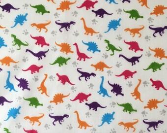 Dinosaur dog bandana - fun dinosaur neckwear - dinosaur bow - quirky cute dinosaur - dinosaur scarf - dinosaur tie up bandana