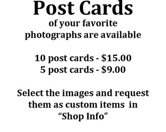 Post Cards from Yellowstone, You pick the images you want