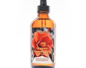Organic Camellia Seed Oil 120ml / 4 Fl OZ