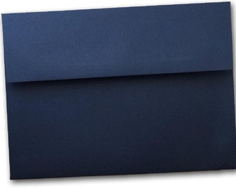 Basic Navy A7 Envelopes - 25 pack