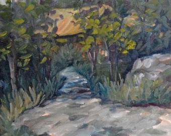 Looking Forward, Ompah, ON - Original Oil Painting