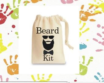 Mens novelty beard kit bag perfect gift!