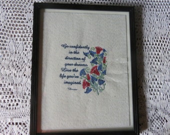 Embroidered Wall Art