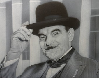 Airbrushed Portrait of Poirot