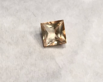 5mm Princess Cut Champagne Topaz