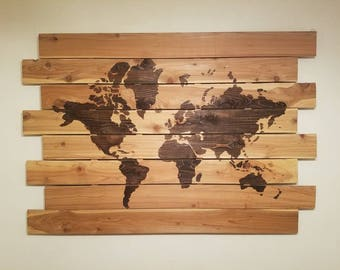 Large world map etsy extra large world map gumiabroncs Image collections