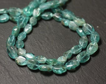 -Stone beads - Apatite Olives 8741140011618-7-9mm 10pc