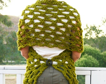 Crochet Pattern - The Any Way Wrap pattern