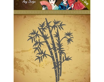 Die cut Amy Design, ORIENTAL collection, bamboo