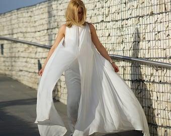 Plus Size Dress, Wedding Dress, Kaftan Dress, Maxi Dress, Gown Dress, White Dress, Kimono Dress, Japanese Clothing, Loose Dress, Sheer Dress