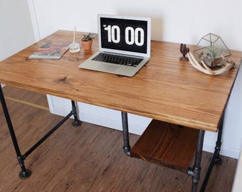 Iron Pipe Office Desk
