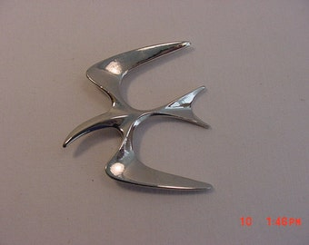 Vintage Sarah Coventry Seagull Brooch   16 - 466
